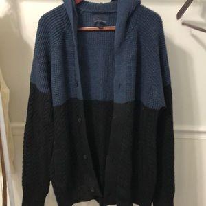 Men's AE Hoodie Cardigan Sweater
